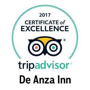 2017 TA AWARD DE ANZA INN