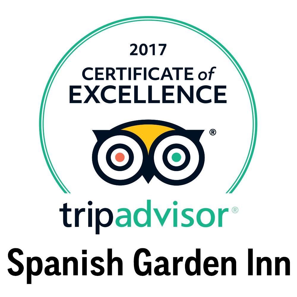 2017 TA AWARD SPANISH GARDEN INN